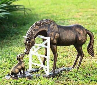 Barnyard Pals Garden Sculpture