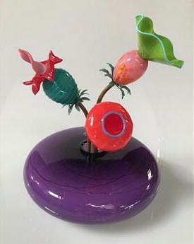 Ikebana Vase II Hyacinth