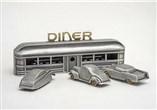 Vintage Diner and Cars