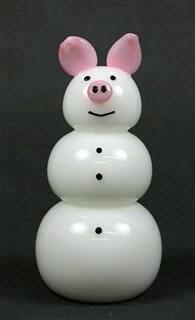Pig Snowman