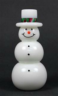 White Top Hat Snowman