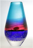 Sunset Teardrop Vase