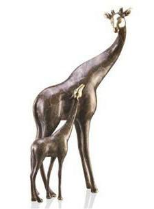 Giraffe Mama and Baby