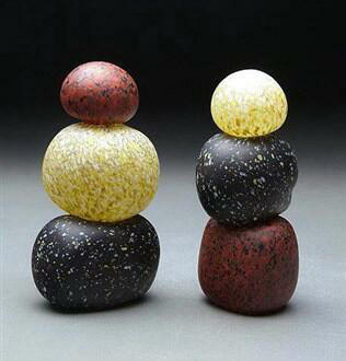 Glass Stone Cairns I