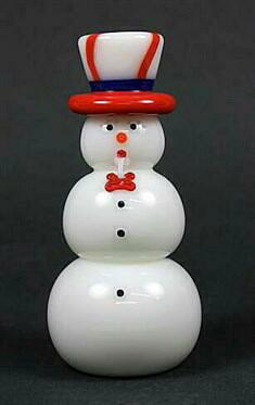 Uncle Sam Snowman