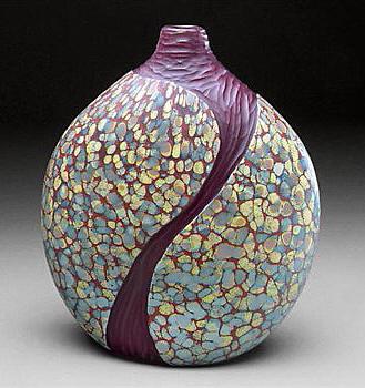 Lava Flows Cascade Vase