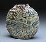 Sandy Strata Vase