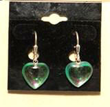 Heart Multi Color Crystal Earrings