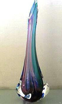 Tall Vase Grapel