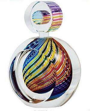 Striped Perfume Bottle Zephyr