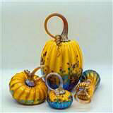Amber Pumpkin Set