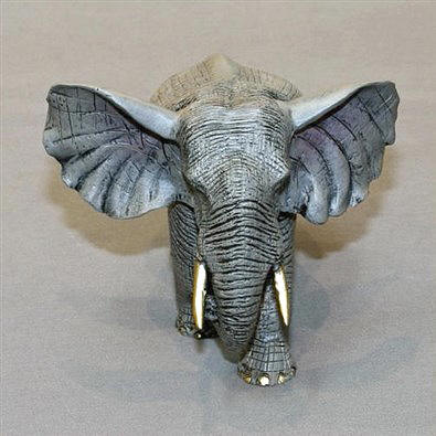 Barry Stein Bull Elephant Limited Edition Bronze Sculpture