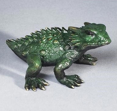 Horned Toad Green