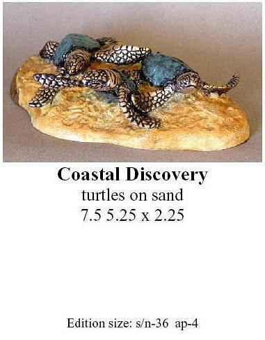 Quillan Ltd. Ed. Bronze Sculpture Coastal Discovery