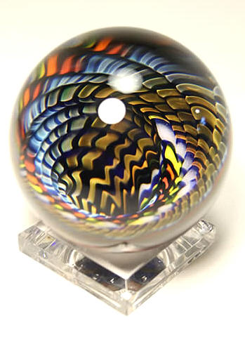 Kevin O Grady Carnival Vortex Marble Ii At Art Glass By