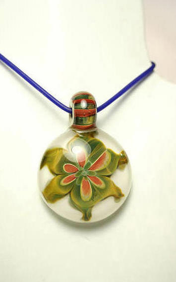 Floral Bouquet Pendant by Paul Katherman