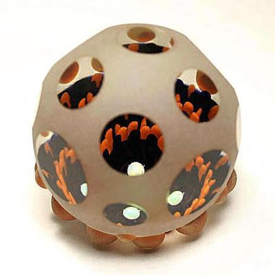 Opal Studded Basket Marble by Raj Kommineni