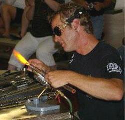 Glass Artist Paul Katherman