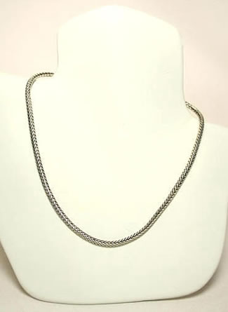 Silver Necklace by Paul Katherman Designs