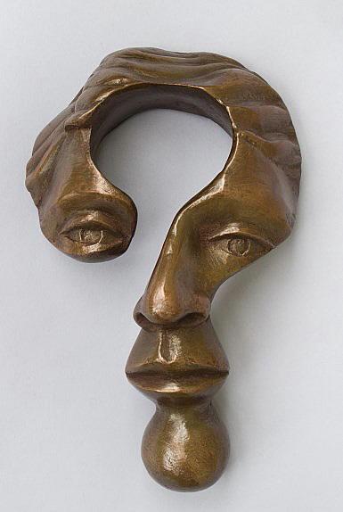 Michael Alfano Bronze Sculptures Questioning Mind